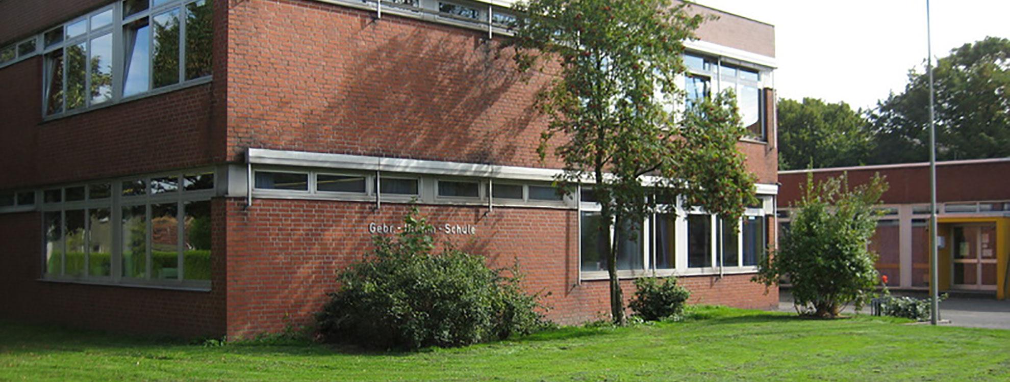 Gebäudeansicht der Gebr.-Grimm-Schule in Hamm.