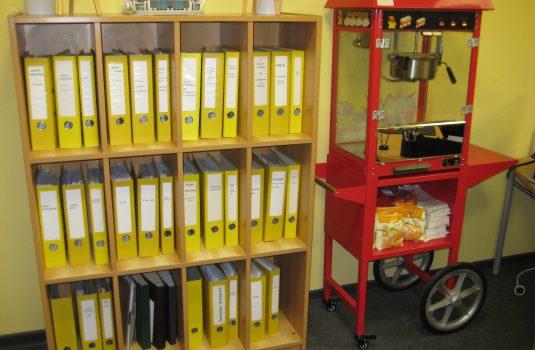 Popcornmaschine Gebrüder-Grimm-Schule
