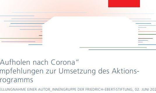Bild Aufholen nach Corona 1